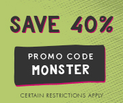Save with promo code MONSTER
